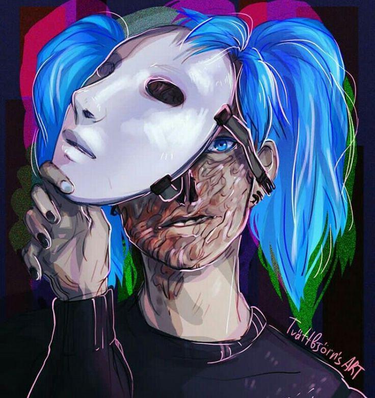 Салли фейс без маски 222