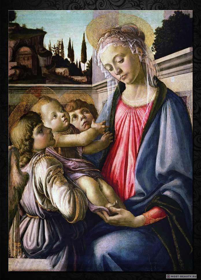 Мадонна с младенцем Боттичелли