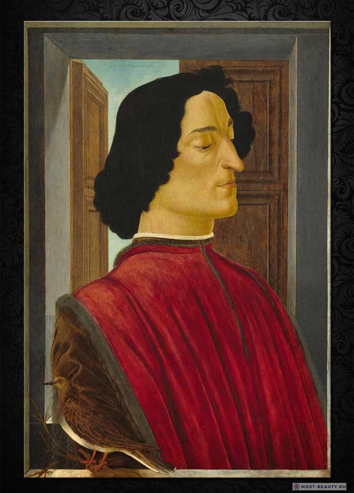 Портрет Джулиано Медичи