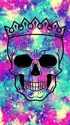 разноцветный череп 2