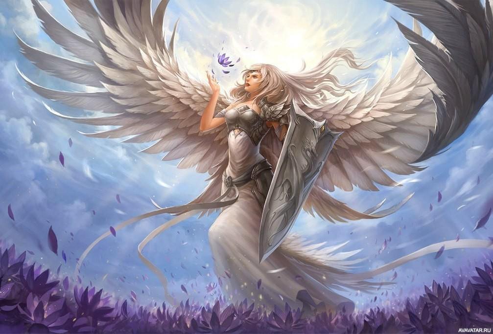 ангел воин света
