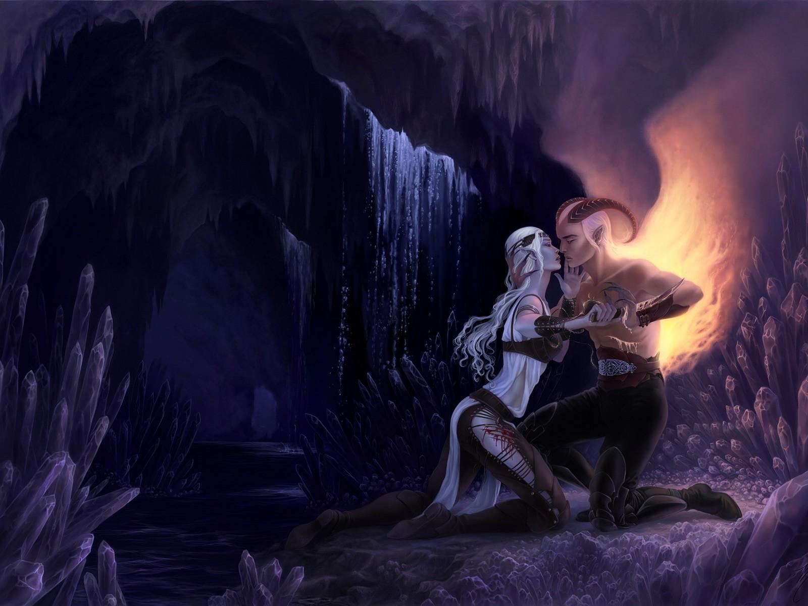 девушка и демон