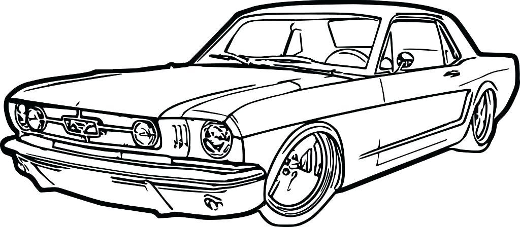 Раскраска Форд