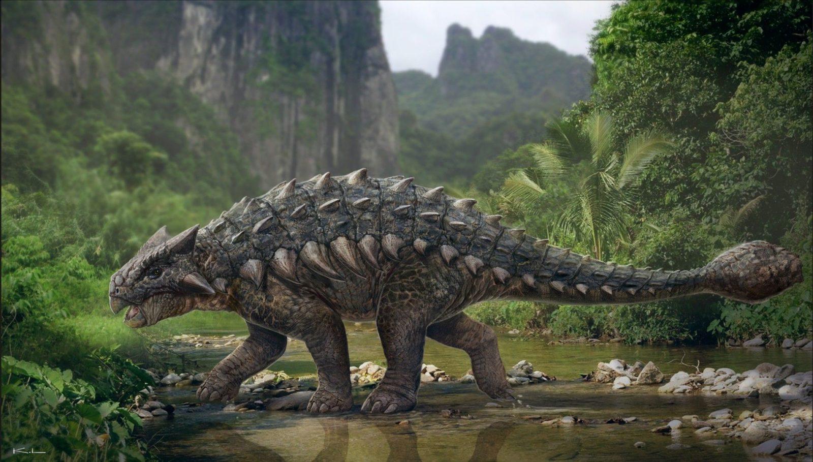 анкилозавр фото 2