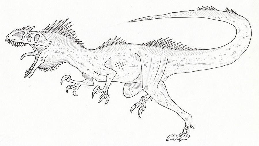 Раскраска гигантозавр