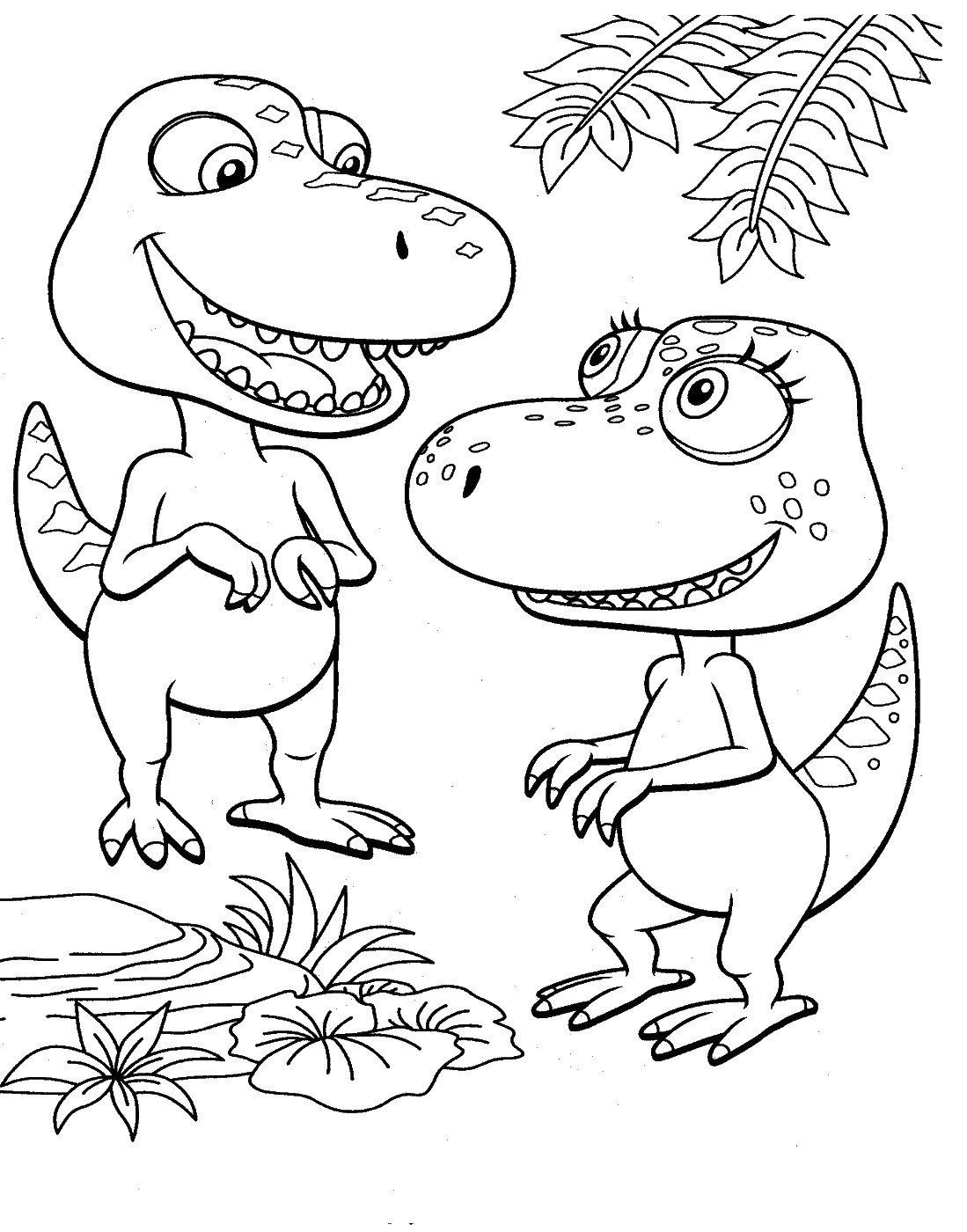 динозаврики фото