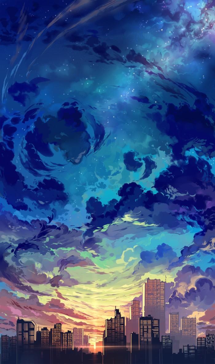 Таинственное небо