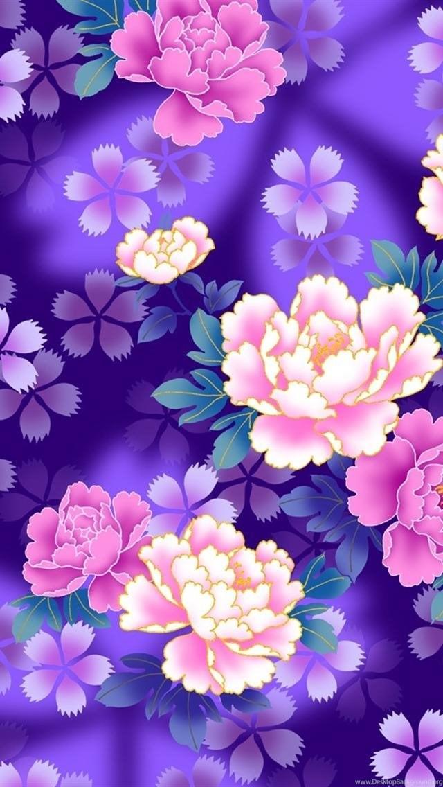 обои на телефон цветы