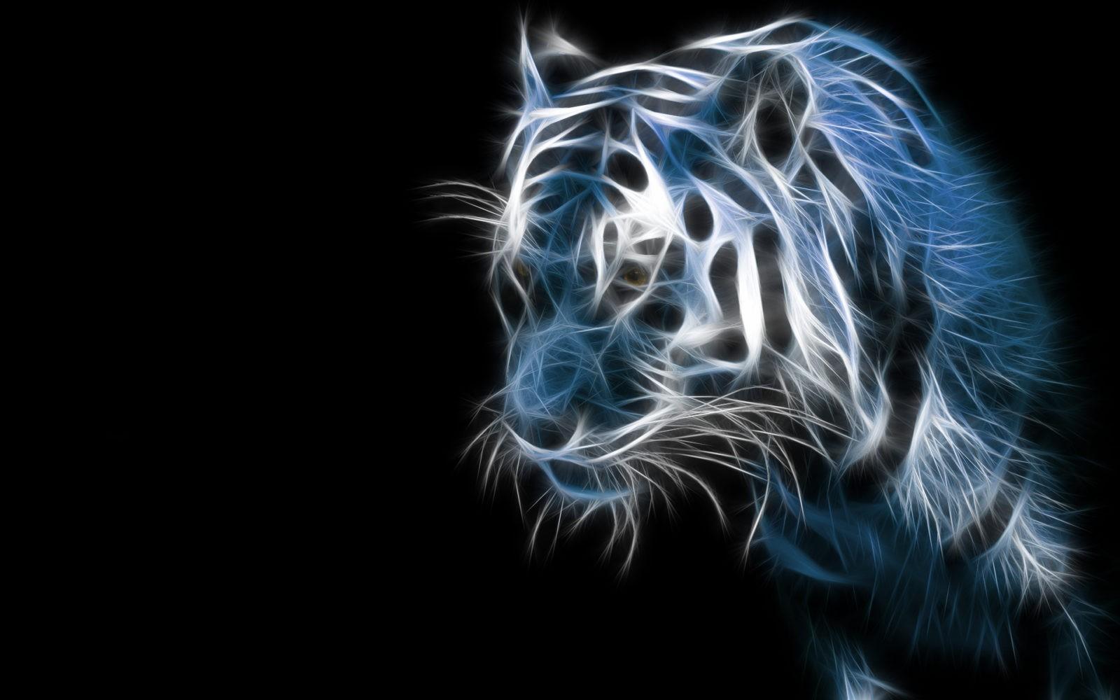 неоновый тигр