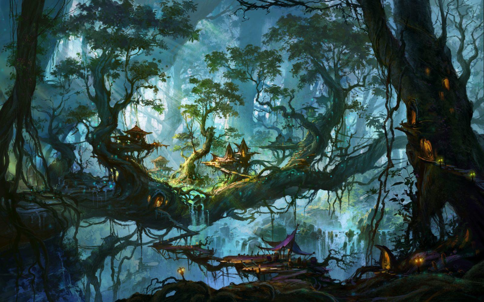 сказочный лес 11