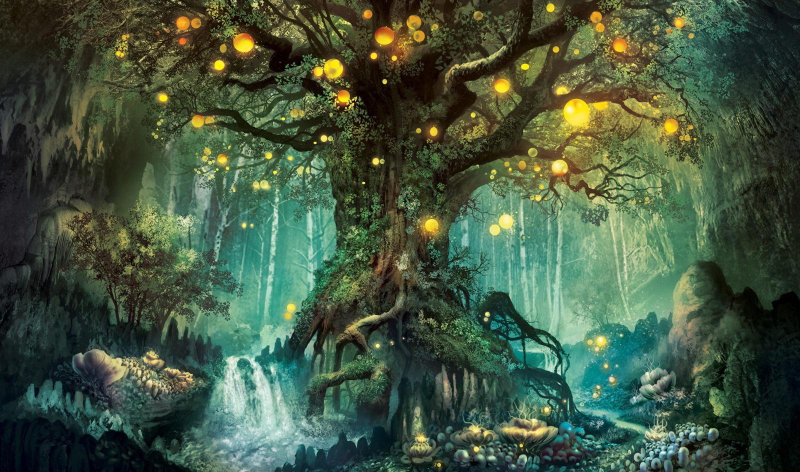 таинственный лес 77