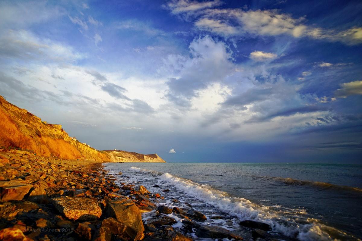 Берег моря фото