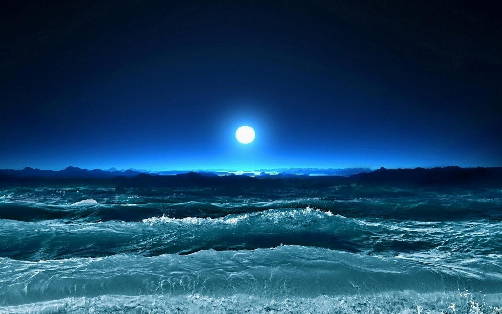 море ночное фото 2