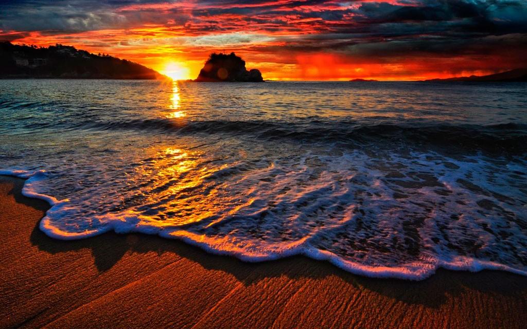 Закат на море фото 6