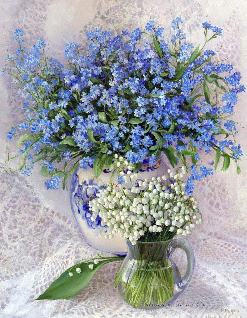Незабудка цветок фото и картинки - Дневник садовода