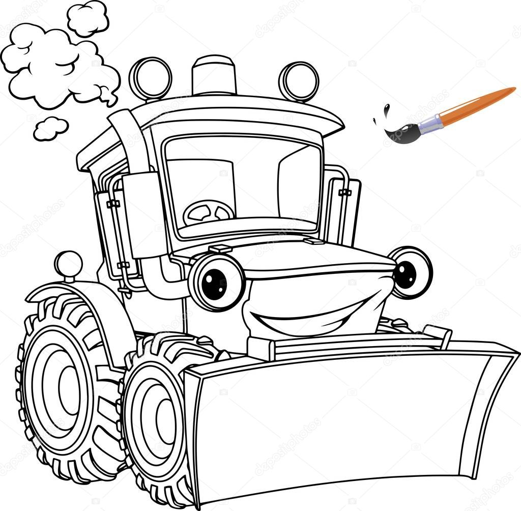 Трактор Гоша | andrey-eltsov.ru