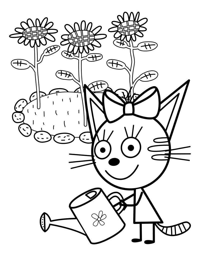 Кошка Карамелька