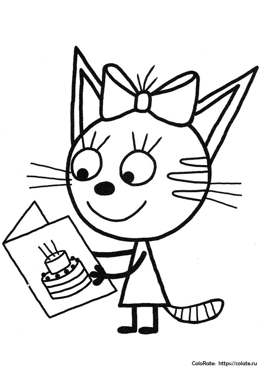Кошка Карамелька 77