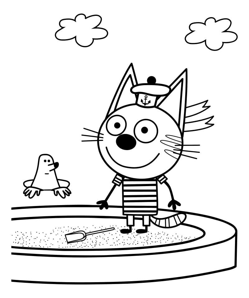 кот Коржик 3