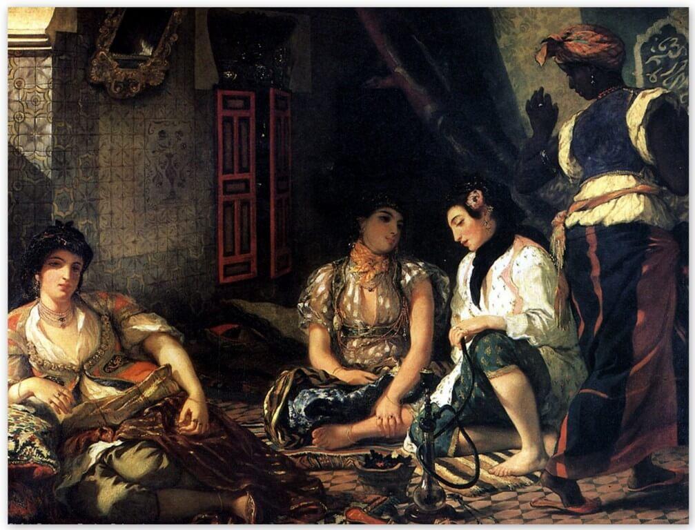 Алжирские женщины Делакруа
