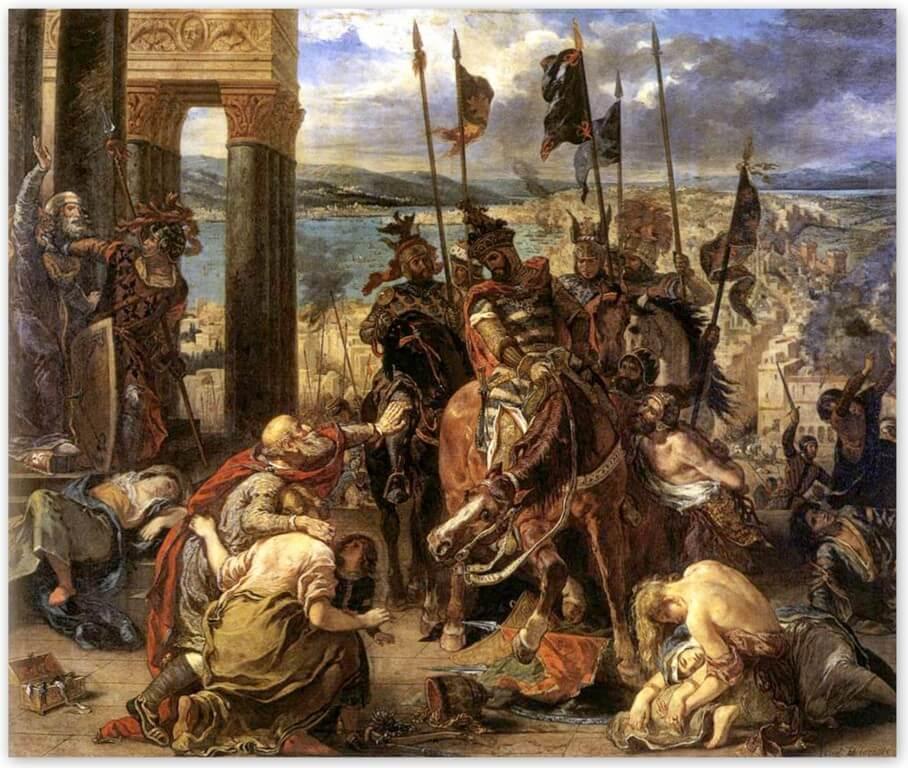 Вступление крестоносце в Константинополь