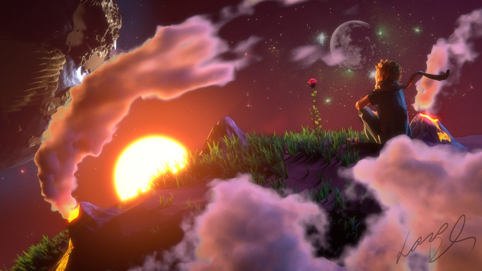 планета Маленького принца
