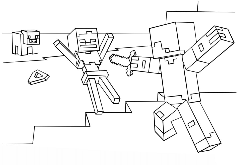 Раскраска Стив 12