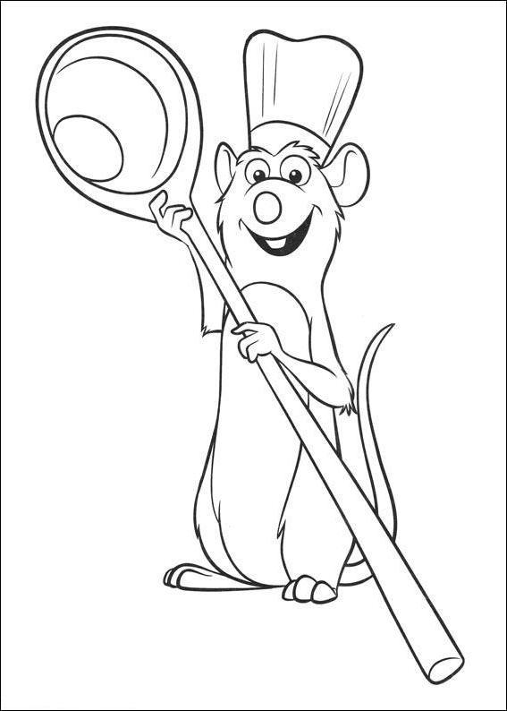 крыса повар
