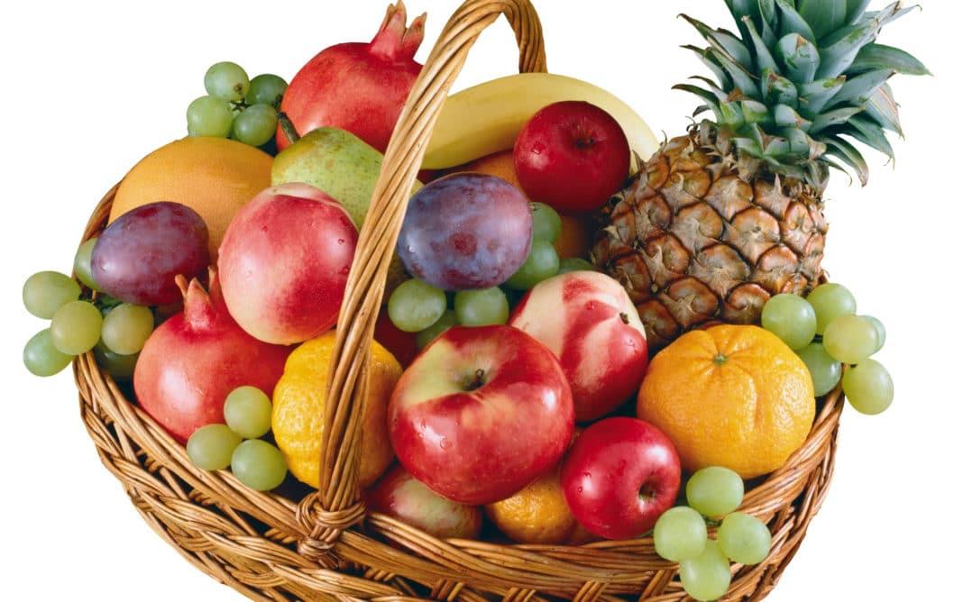 корзина фруктов фото