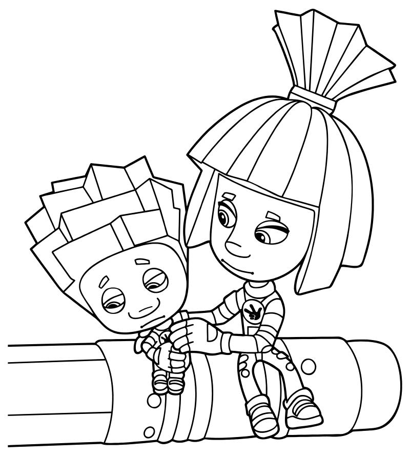 Симка и Нолик