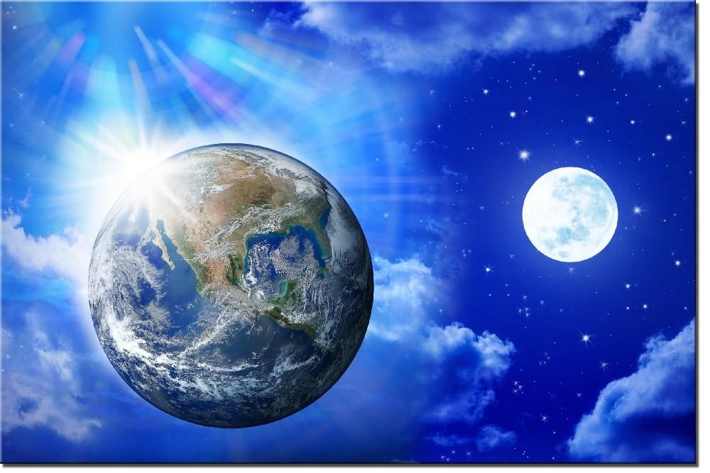 Земля и Луна фото 11