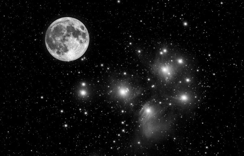 фото луна 45