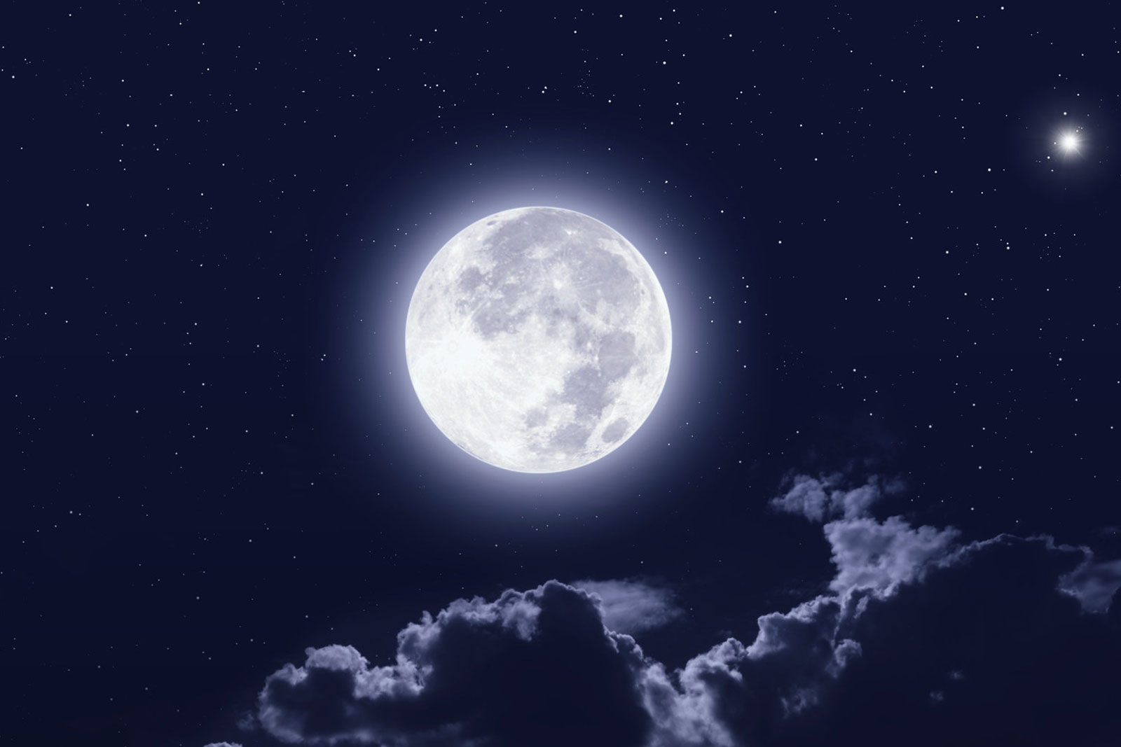 фото луна