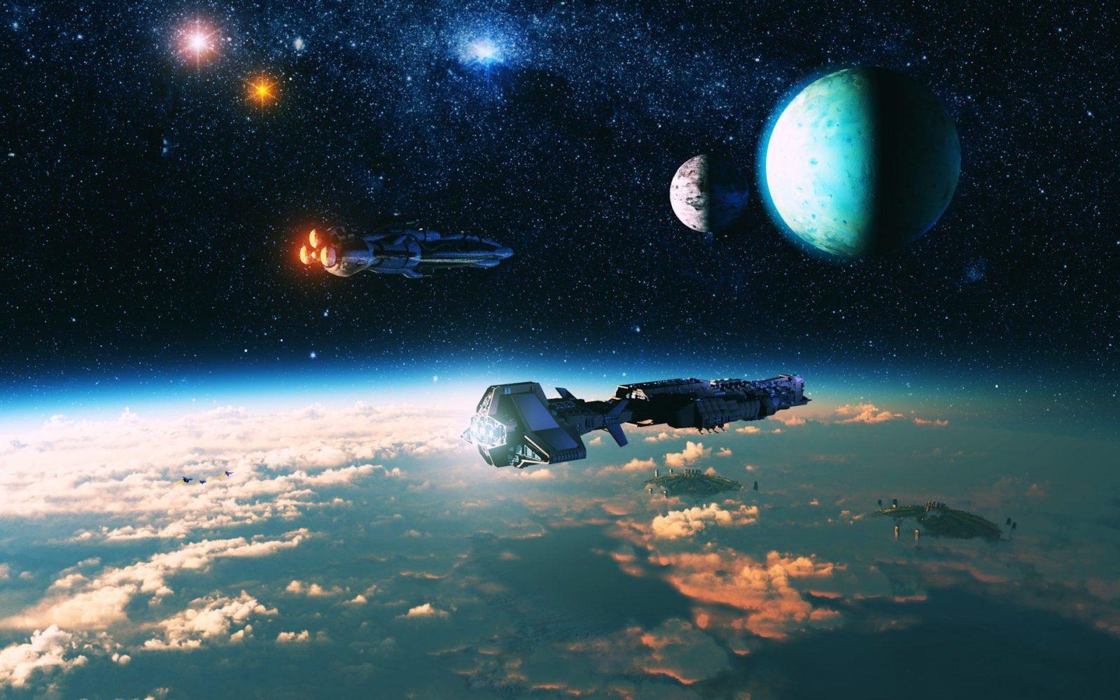 космические корабли фото