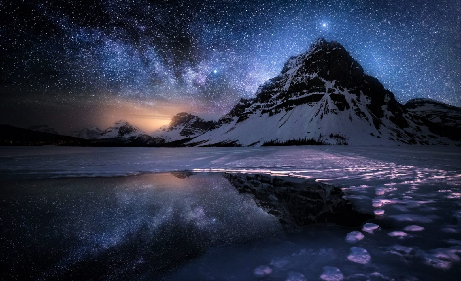 ночные горы фото