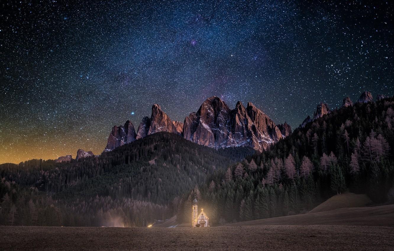 ночные горы фото 4