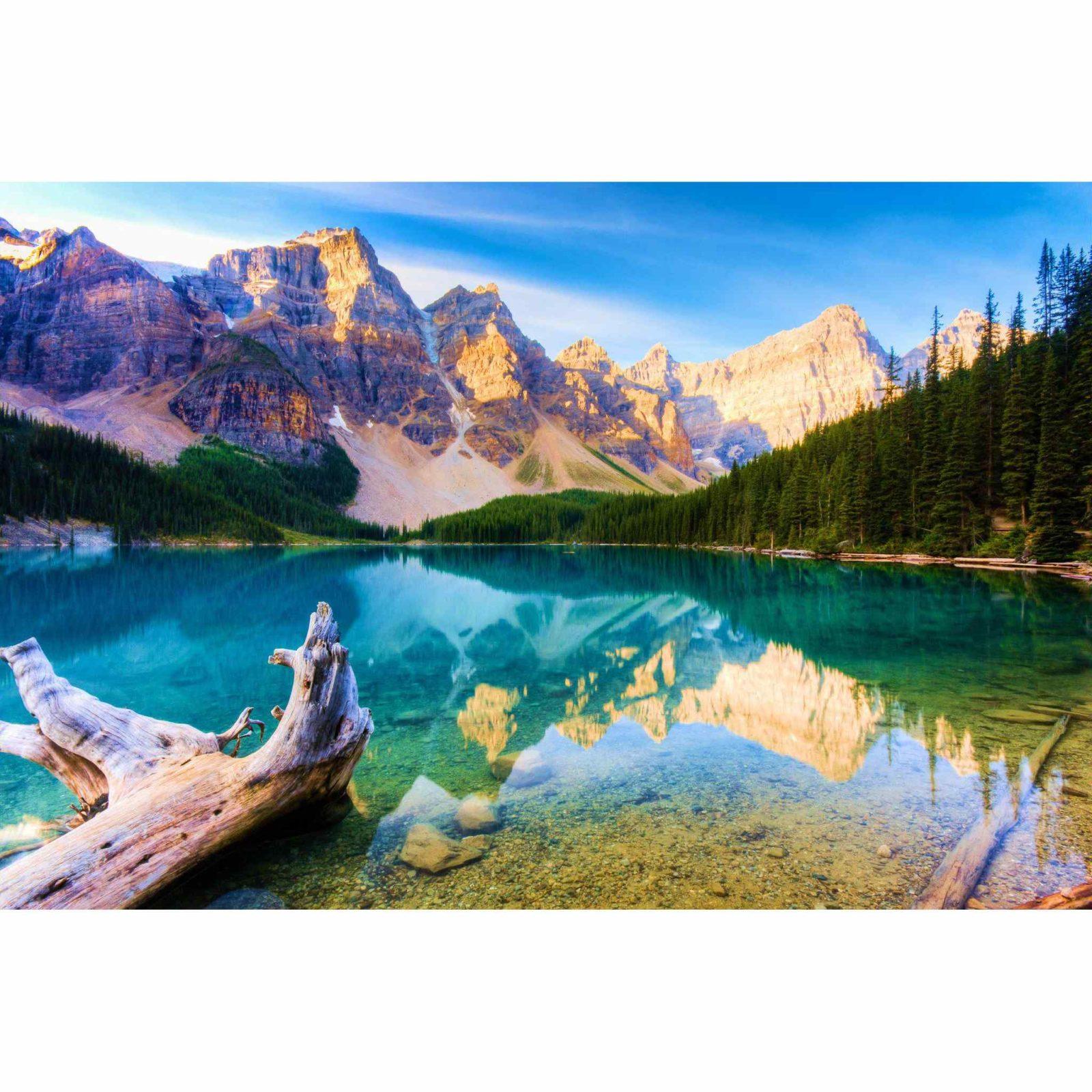 горы с озером