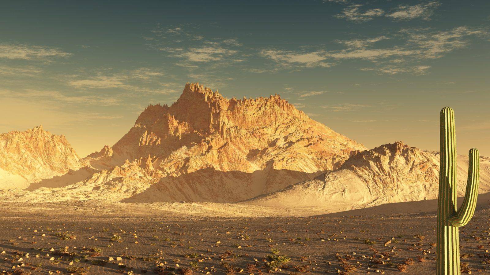горы в пустыне 5