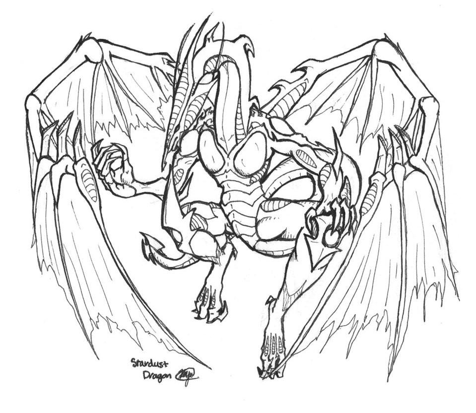 Раскраска дракон 25