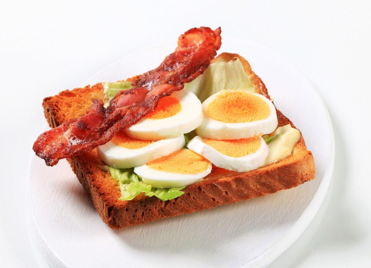 Красивый сэндвич