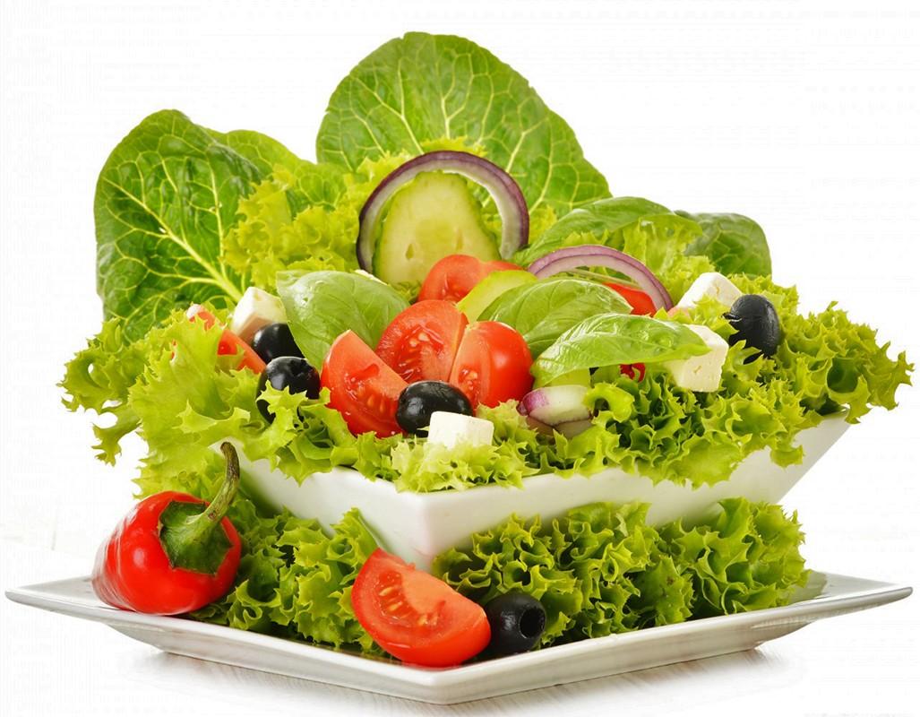 Красивый салат 10