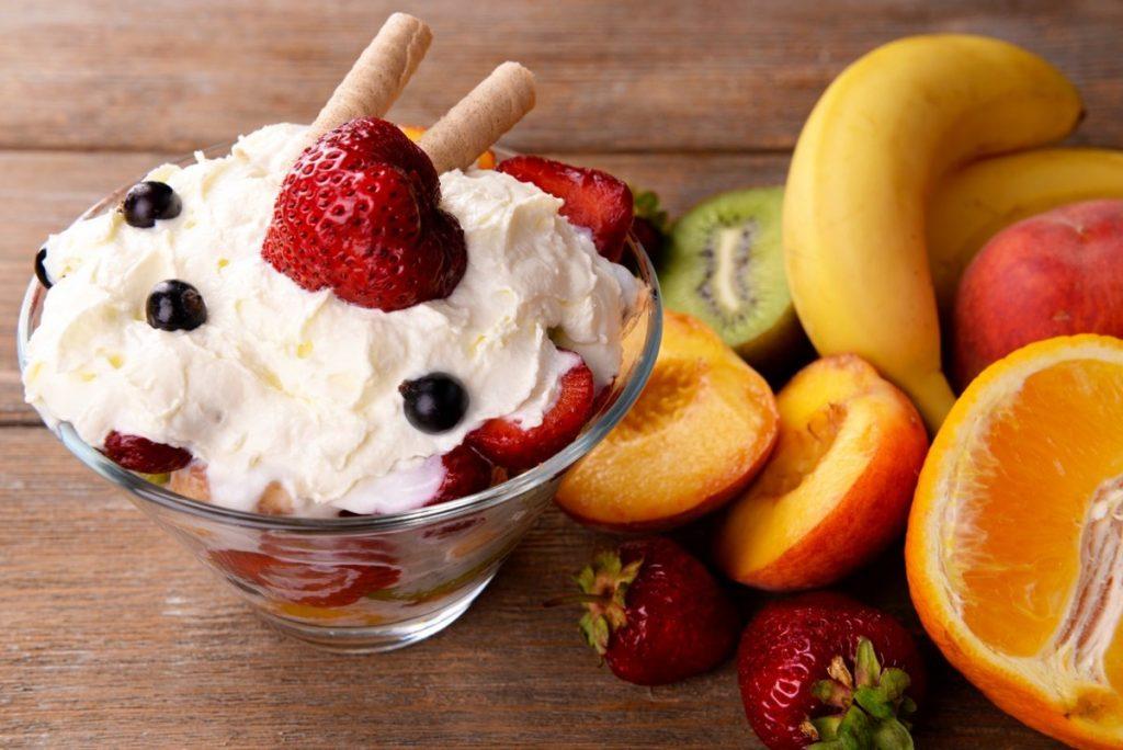 Красивое мороженое