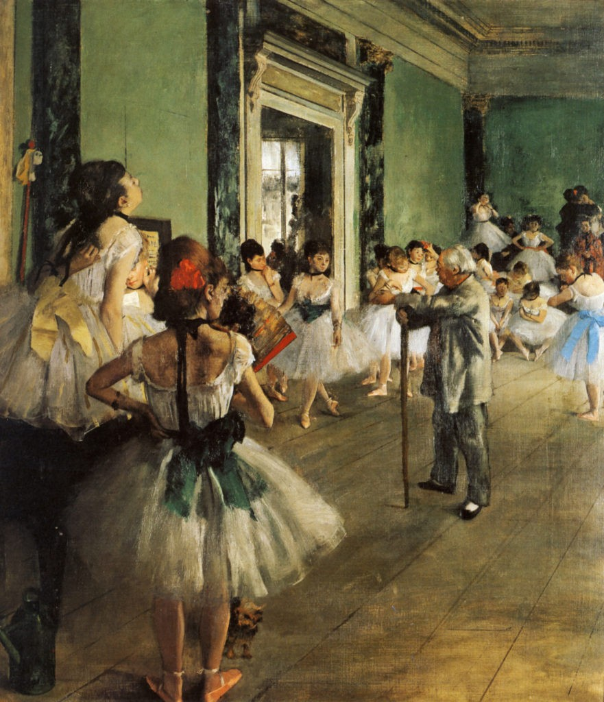 Танцевальный класс Дега
