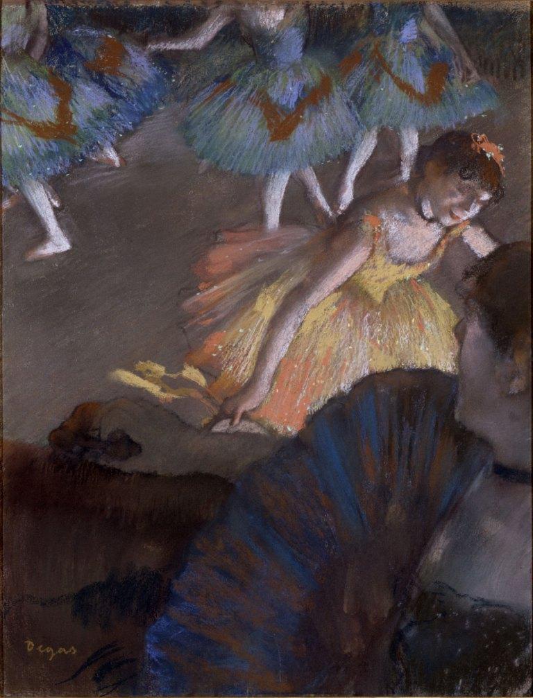 Балет из оперной ложи Дега