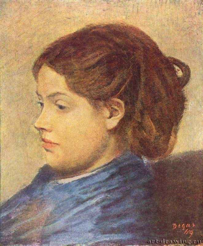 Портрет мадемуазель Добиньи