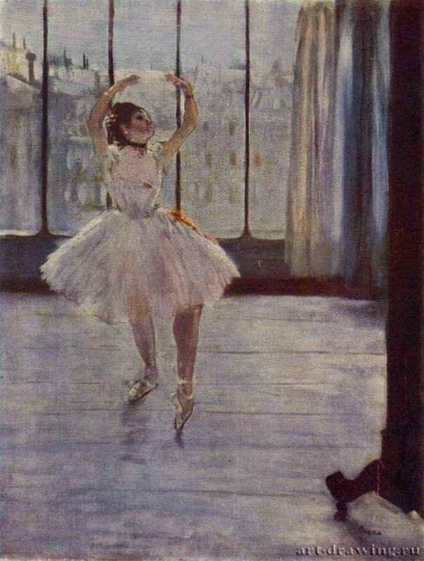 Танцовщица у фотографа