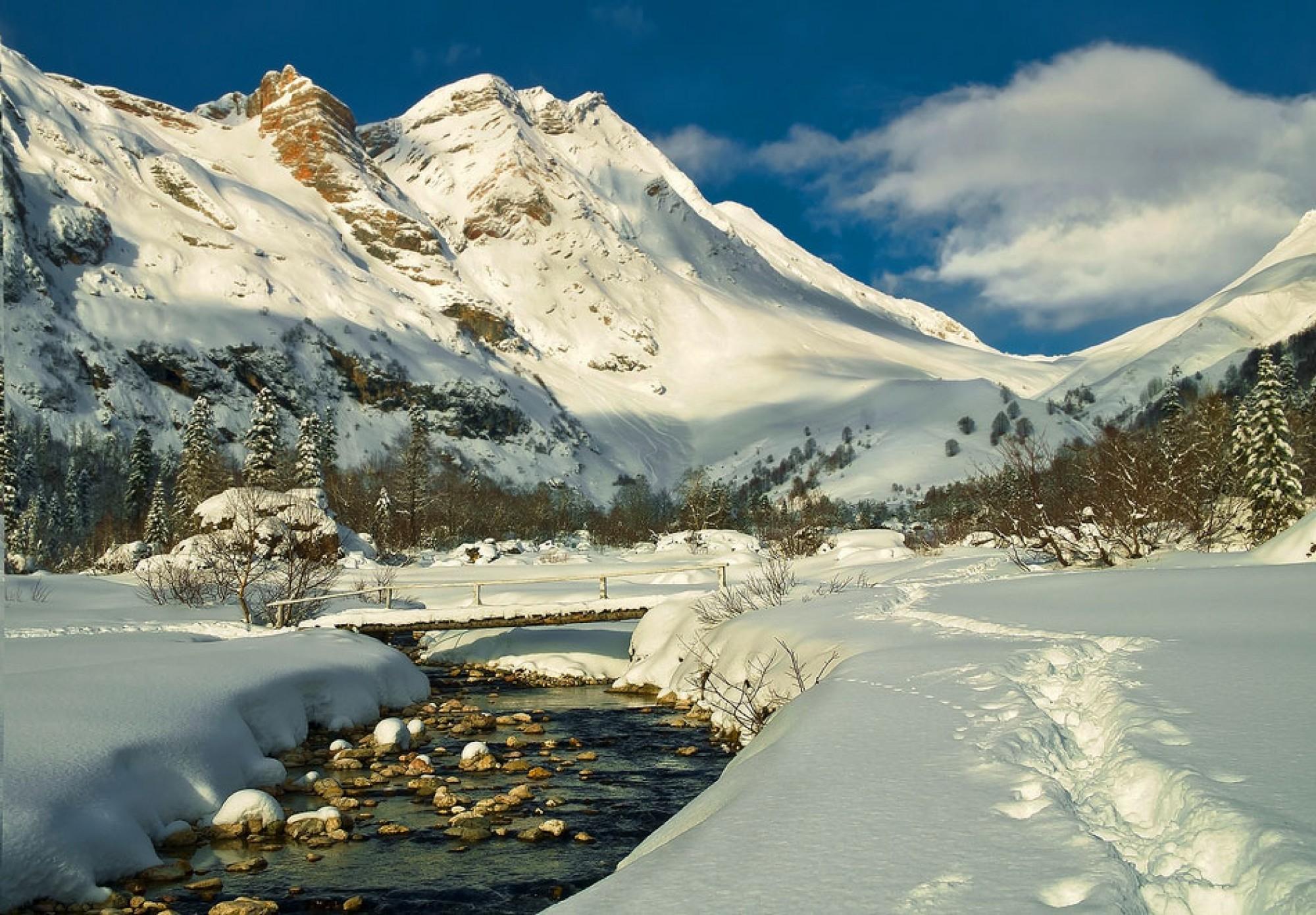 кавказские горы Адыгеи