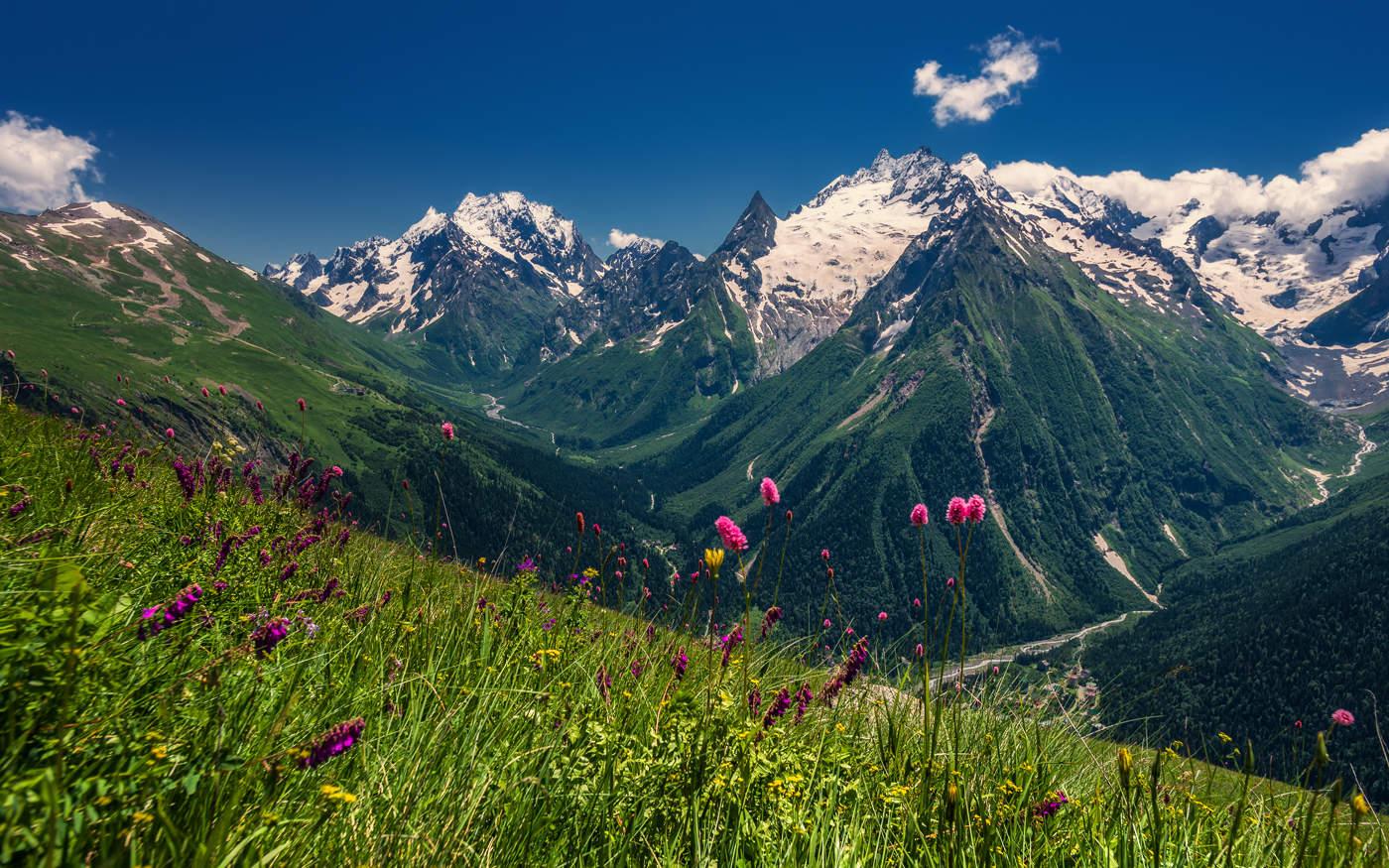 Горы Кавказа 45