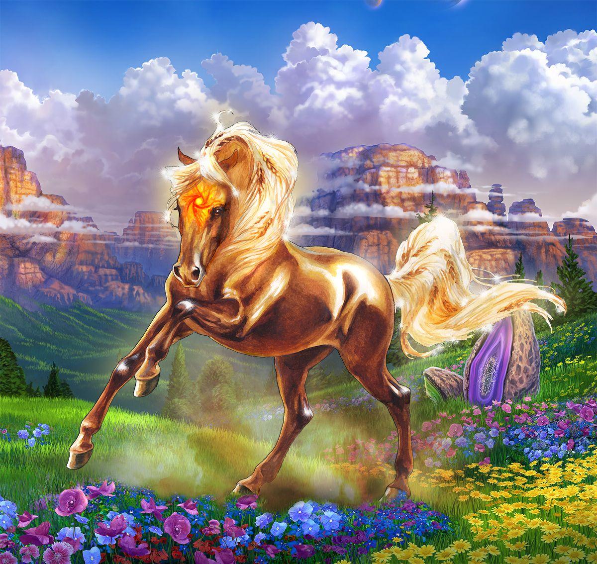 Лошадь фэнтези Белла Сара