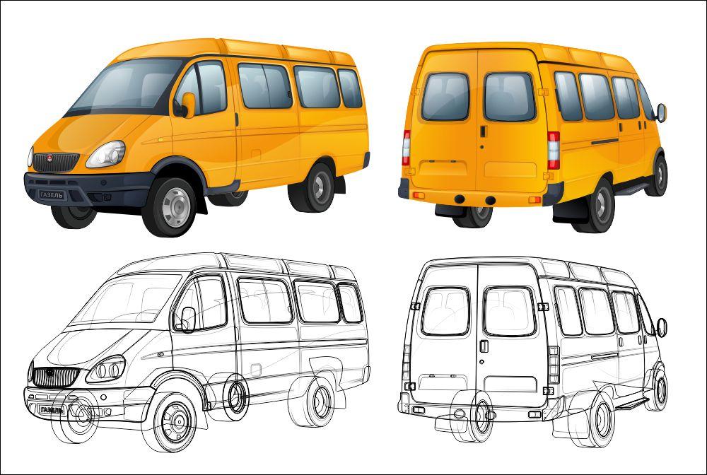 Пример раскраски 4